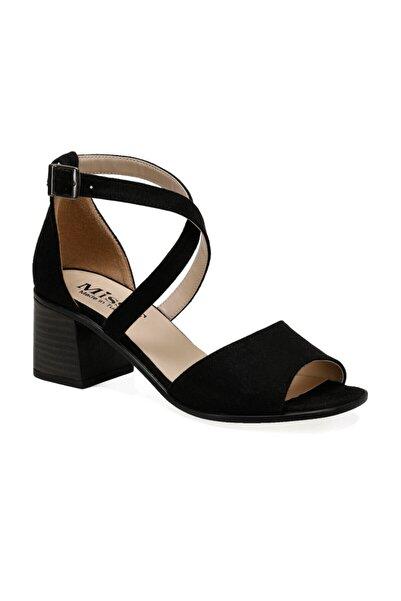 Miss F Ds20060 Siyah Kadın Topuklu Ayakkabı