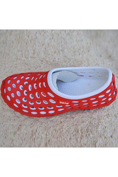 Ortopedik Unisex Deniz Ayakkabısı Kırmızı Beyaz