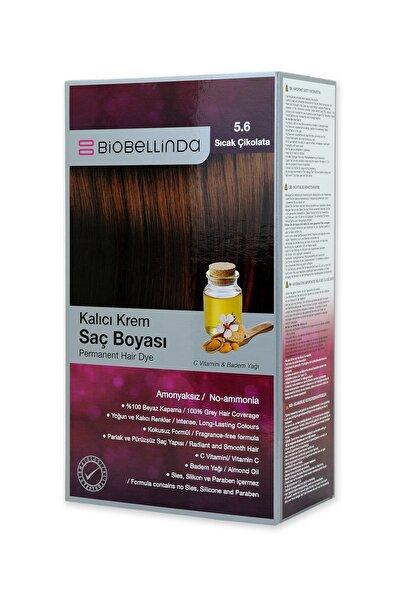 BioBellinda Amonyaksız Kalıcı Krem Saç Boyası - Sıcak Çikolata