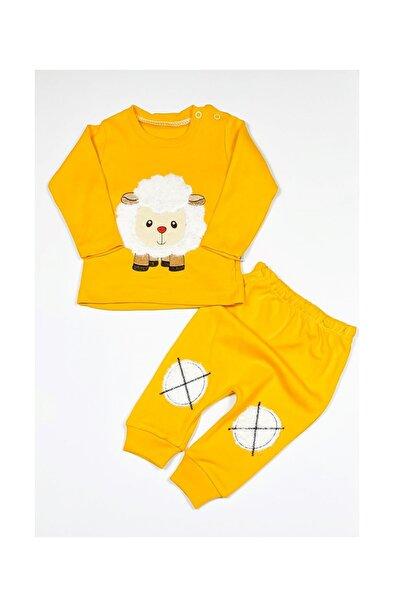 Dombili Sarı Kuzu Bebek Takım