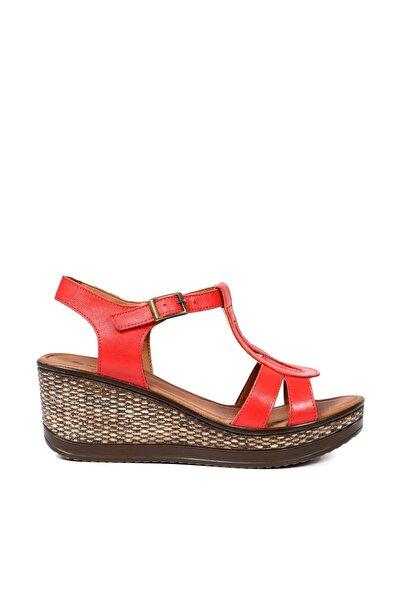 Hammer Jack Kırmızı Kadın Terlik / Sandalet 157 120-Z