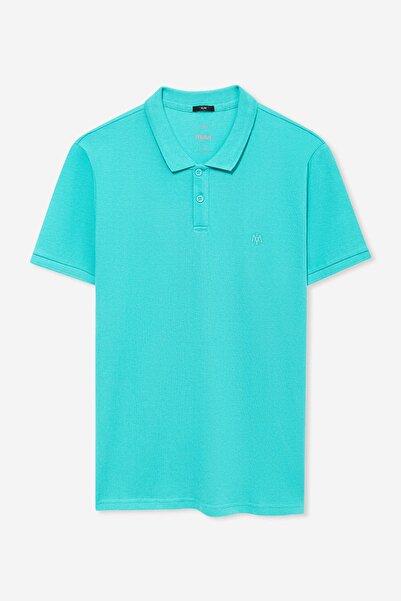 Erkek Yeşil Polo T-Shirt 8806043-31381