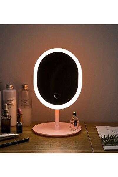 EBRTECH Makyaj Aynası Led Işıklı Makyajdokunmatik Usb Kablolulambası Dokunmatik