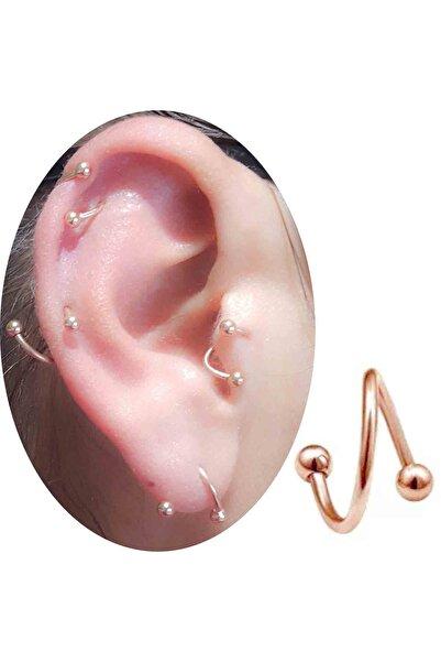 6 Mm Rose Cerrahi Çelik Tragus-helix-kıkırdak Piercing