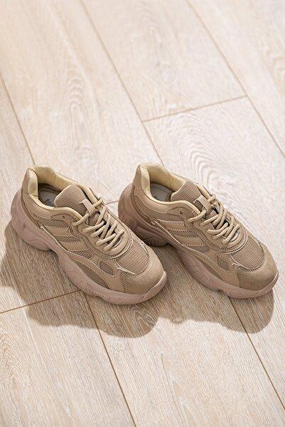 Tonny Black Kadın Spor Ayakkabı Toprak Tb246