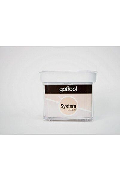 Gondol Istiflenebilen Gıda Depolama Kapları 0.50 Lt