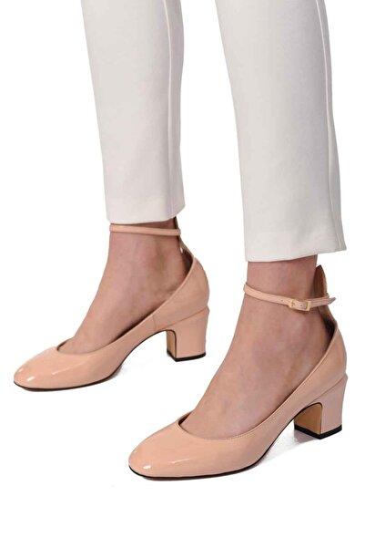 Mizalle Mızalle Premium Tokalı Ayakkabı (bej)
