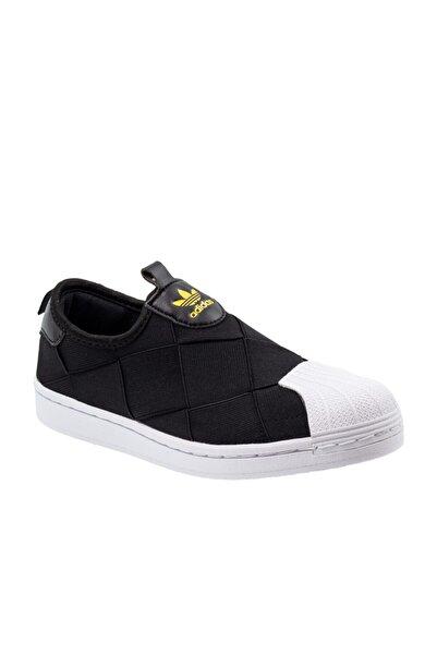 Superstar Slip On Kadın Siyah Spor Ayakkabı FV3187