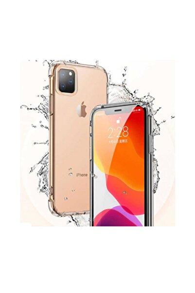 DC Apple Iphone 11 Pro Max Şeffaf Birinci Kalite Darbe Emici Şeffaf Silikon Kılıf Koruyucu
