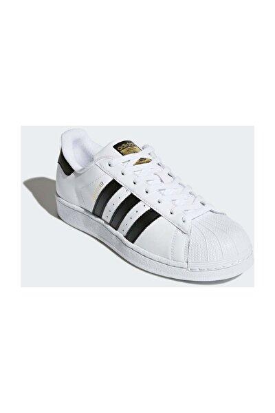adidas Superstar Unisex Spor Ayakkabı Beyaz C77124