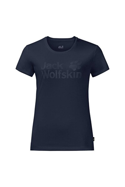 Jack Wolfskin Rock Chill Logo Kadın T-Shirt - 1805541-1910