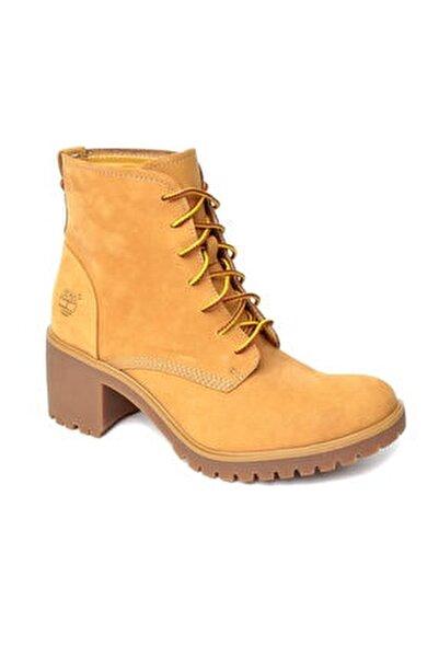 Hakiki Deri Buğday Kadın Ayakkabı 2Tıw2015032