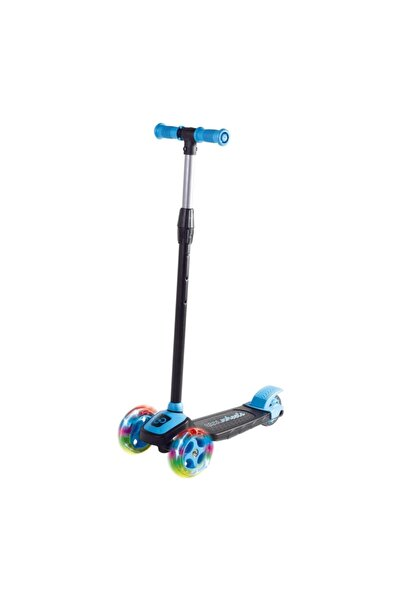 Furkan Toys Cool Wheels Twist Led Işıklı 3 Tekerlekli Yükseklik Ayarlı Scooter - Mavi