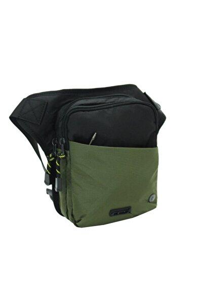 ÇÇS Motosiklet Bel Bacak Çanta Yeşil