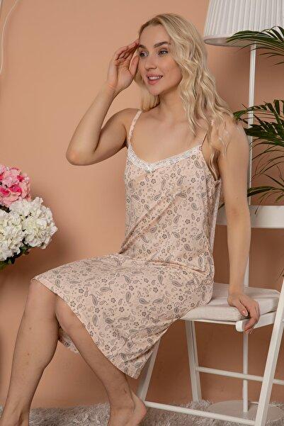 ELİTOL Viskon Desenli Elbise
