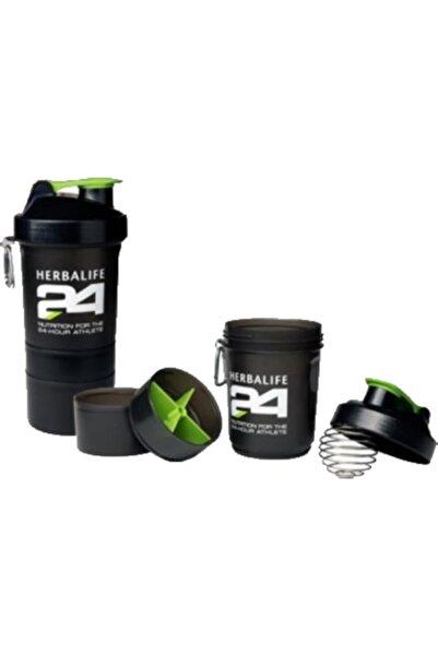 Herbalife Süper Shaker + Karıştırıcı (toz Hazneli)