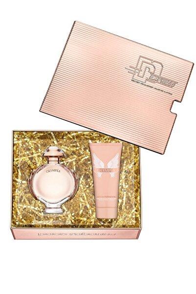 Paco  Rabanne Paco Rabanne Olympea Edp 80 + Body Lotion 100 ml Kadın Parfüm Seti