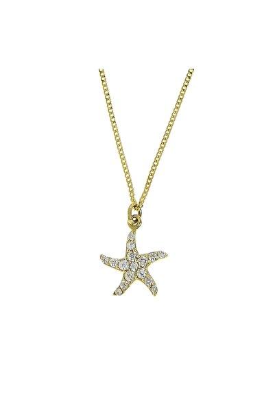 Tuğrul Kuyumculuk 14 Ayar Altın Deniz Yıldızı Kolye