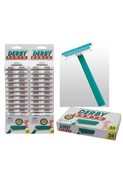 Derby Tekli Tıraş Bıçağı 50 Adet