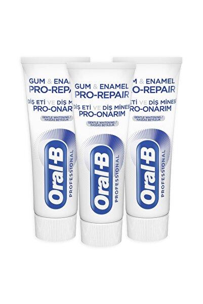 Oral-B Diş Eti Ve Minesi Pro Onarım Beyazlık Diş Macunu 75 ml  X 3