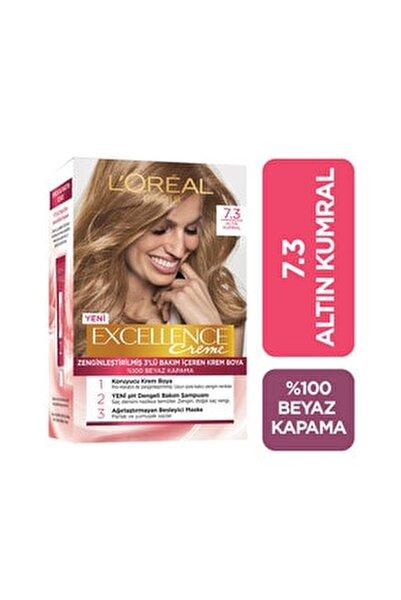 Saç Boyası - Excellence Creme 7.3 Altın Kumral 8690595357317