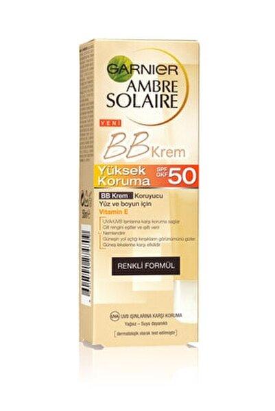 Güneş Koruyuculu BB Krem - Ambre Solaire BB Cream SPF50 50 ml 3600541312654