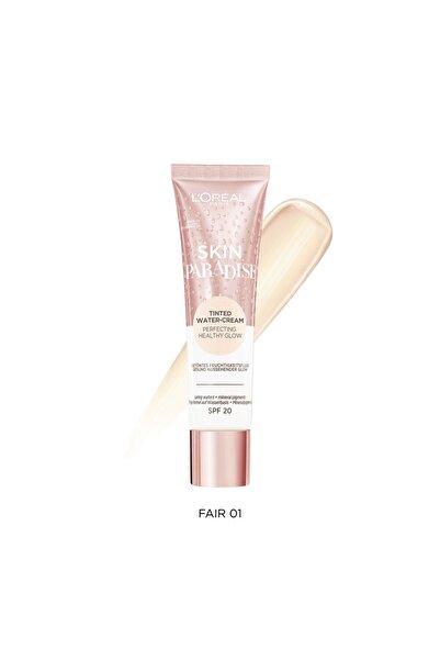 Skin Paradise Su Bazlı Renkli Nemlendirici 01 Fair 3600523880027