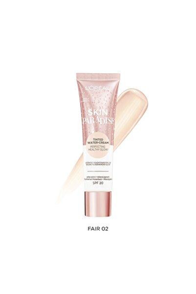 Skin Paradise Su Bazlı Renkli Nemlendirici 02 Fair 3600523880133