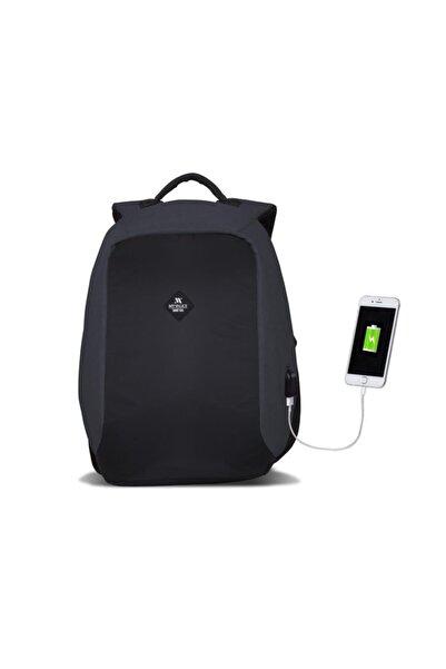 Smart Bag SECRET Usb Şarj Girişli Akıllı Sırt Çantası