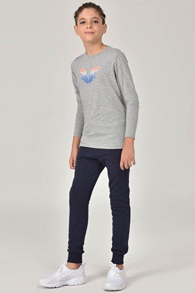 bilcee Gri Unisex Çocuk T-Shirt FW-1484