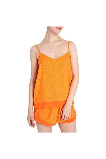 Bella Maison Kadın Portakal Rengi Pop Tart Bluz