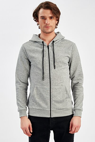 Gri Erkek Sweatshirt | Me19w224290