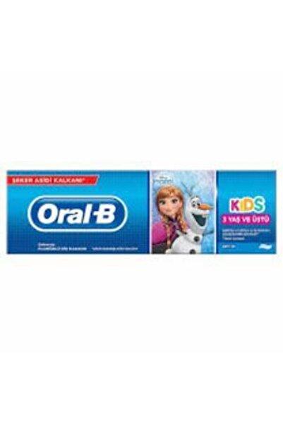 Oral-B Frozen Çocuk Diş Macunu 75 ml 3 Yaş Ve Üstü