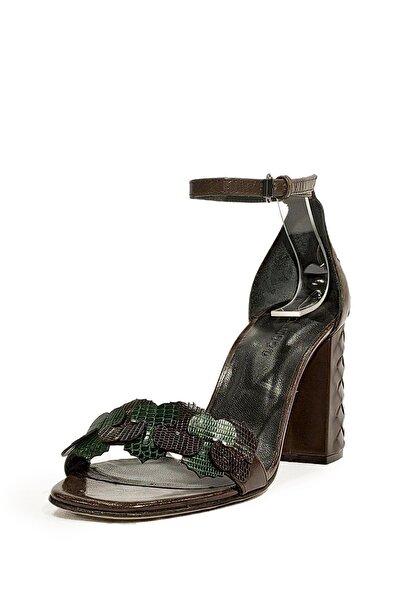 Nursace Hakiki Deri Kadın Klasik Topuklu Ayakkabı Kadın Klasik Topuk Ayakkabı Nsc19y-a38814