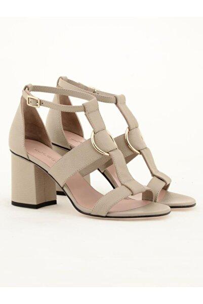Nursace Kadın Hakiki Deri Klasik Topuklu Ayakkabı Nsc19y-a57612