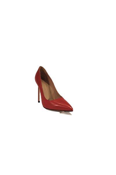 Nursace Hakiki Deri Kadın Klasik Topuklu Ayakkabı Kadın Klasik Topuk Ayakkabı Nsc19y-a41903