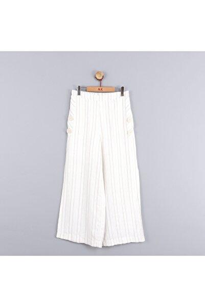 NK Kız Çocuk Beli Lastikli Peştemal Pantolon