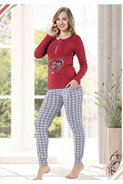 Dove Bayan Pijama Takımı Uzun Kollu