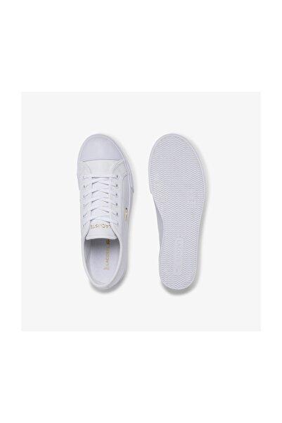 Ziane Plus Grand 120 1 Cfa Kadın Beyaz Deri Casual Ayakkabı 739CFA0050