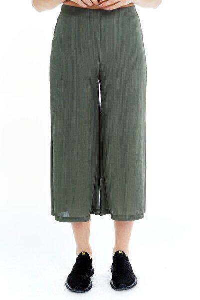 PAULMARK Fitilli Basic Pantolon