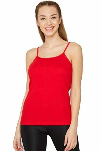Tutku Kadın Kırmızı Atlet 6'lı Paket