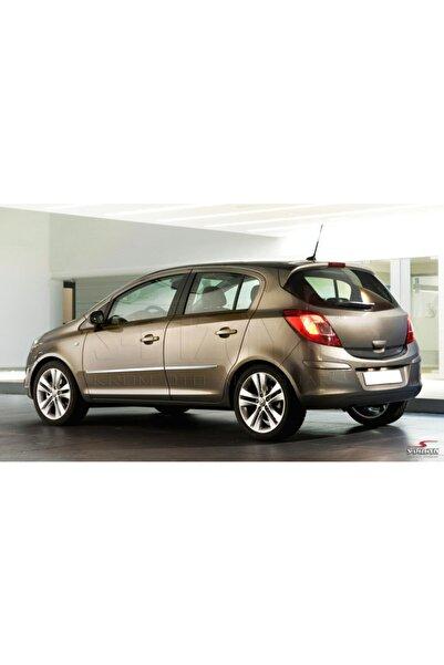 S Dizayn Opel Corsa D Kapı Koruma Çıtası Krom 2007-2014