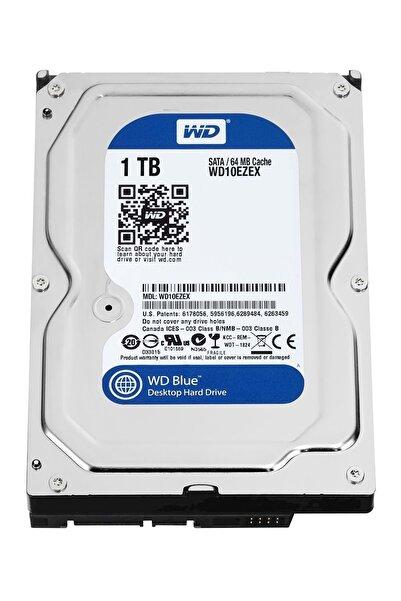 """WD 1TB 3.5"""" 7200RPM Sata3 64MB Blue Dahili Masaüstü HardDisk WD10EZEX"""