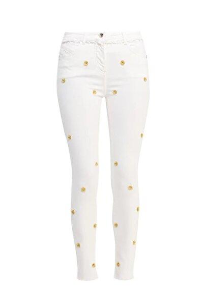 Patrizia Pepe Kadın Beyaz Jean