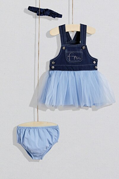 Wogi Dream Blue 2'li Elbise Set