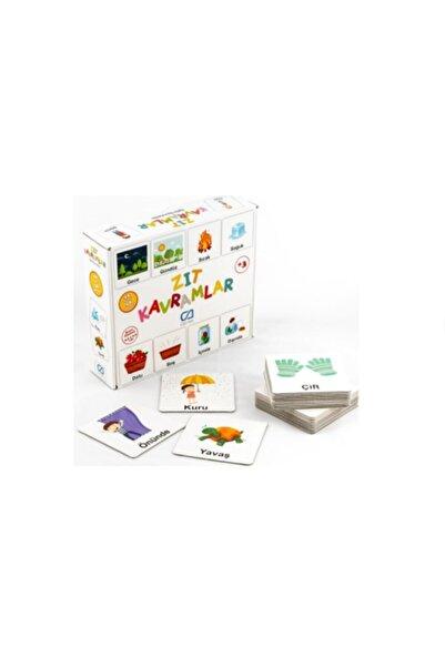 Ca Games Yayınları Zıt Kavramlar Eğitici Oyun Kartları 29 Adet