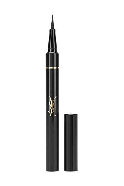 Yves Saint Laurent Eyeliners Effet Faux Cils Shocking 12 Saate Kadar Kalıcı Eyelıner 01 - Black 3365440124387