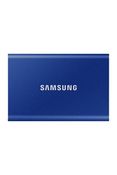 Samsung T7 1 Tb Usb 3.2 Gen 2 (10gbps, Type-c) Taşınabilir Ssd Mavi Mu-pc1t0h