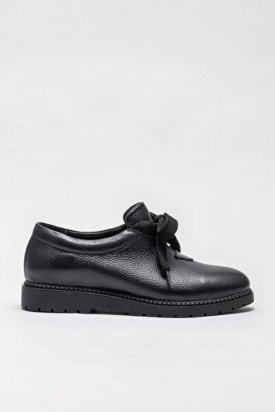 Elle Shoes Kadın Narcısa-1 Sıyah Casual Ayakkabı 20KEYBE-107