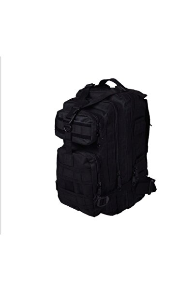 Silyon Askeri Giyim Unisex Siyah Renk Tactical Su Geçirmez Çanta  45 lt